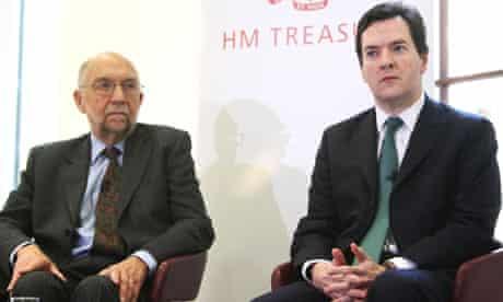 George Osborne Sir Alan Budd