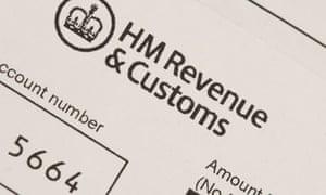 HMRC tax bill