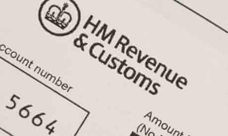 HMRC tax bill