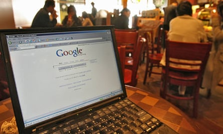 A cafe providing wireless access in Hong
