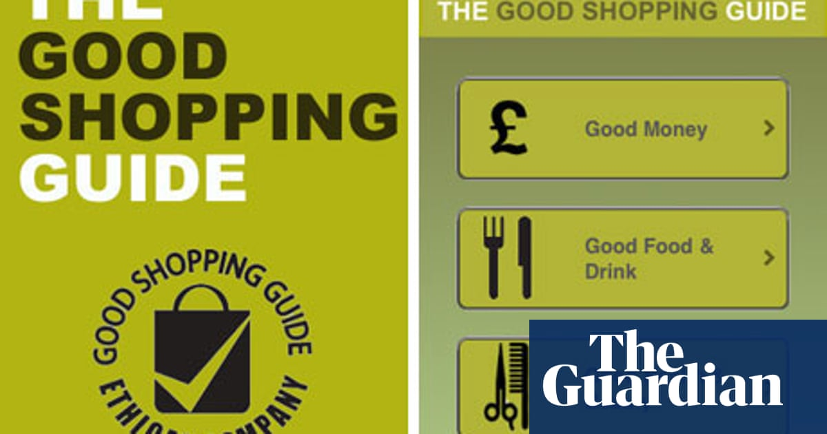 The Good Shopping Guide – consumer app of the week | Money