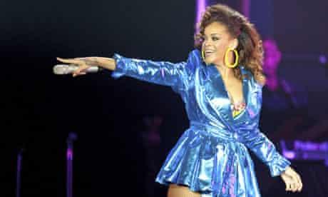 Rihanna Performs At O2 Arena In London