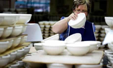Earthenware produced in Stoke-on-Trnet