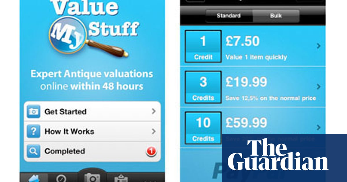 ValueMyStuff – consumer app of the week | Money | The Guardian