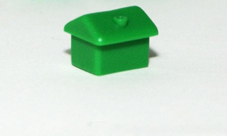 A green monopoly house