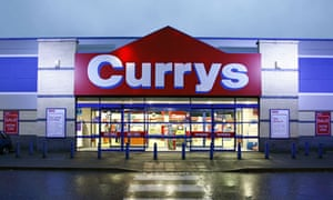 A Currys store