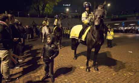 Mounted policewoman Cath I'anson