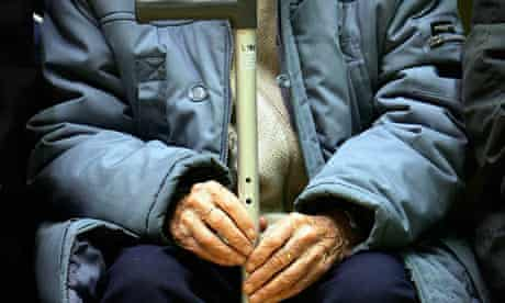 Older people struggling with rising cost of living