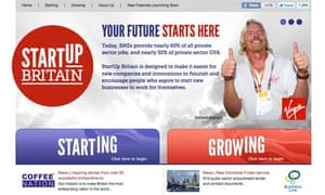 Small businesses let down by StartUp Britain
