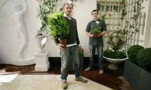 A working life: Landscape gardeners David Wilson and Theo Lloyd