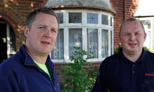 Generation rent – the winners: Mark and Philip Stewardson own 120 homes
