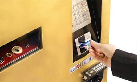 A gold-standard cash machine