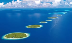 The Baa atoll in the Maldives