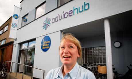 Rachel Talbot, Chief Executive at the Citizens Advice Bureau in Cambridge