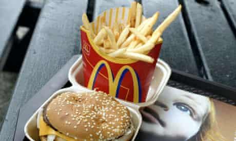 A Big Mac and fries