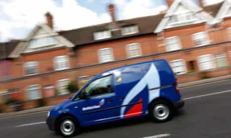 A British Gas van
