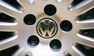 A VW wheel hub