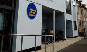 A Citizens Advice bureau in Cambridge