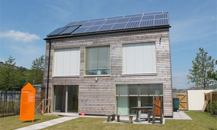 United Welsh Housing Association eco homes