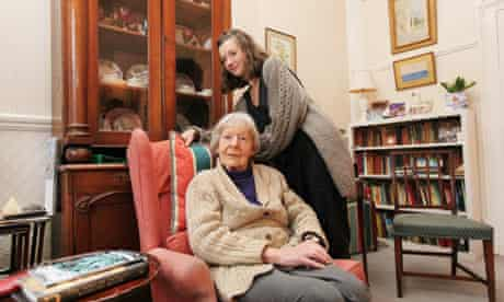 Barbara Clapham and her homesharer Beth Cooke at their flat in Kensington.