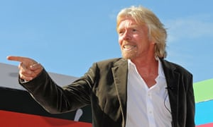 British entrepreneur Richard Branson