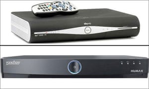 Sky+ and YouView boxes