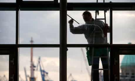 Window cleaner in Germany