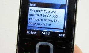 How to reclaim ppi money the guardian mobile phone ppi claims text spiritdancerdesigns Choice Image