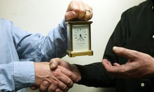 Image result for retirement getting carriage clock