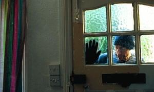 A burglary in progress