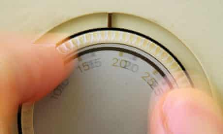 A domestic thermostat