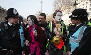 Students protest over government plans for higher education