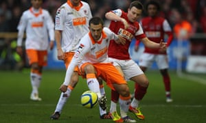 Fleetwood Town v Blackpool in the FA Cup third round