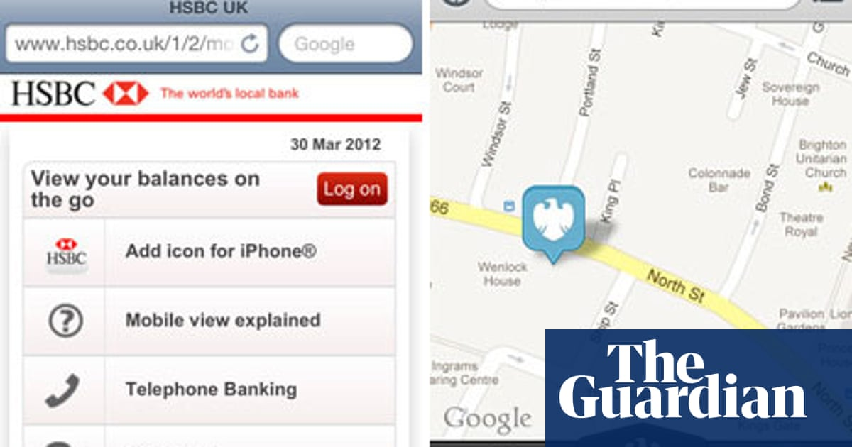 UK's high street banking - consumer apps of the week | Money | The