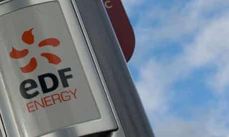 An EDF energy sign