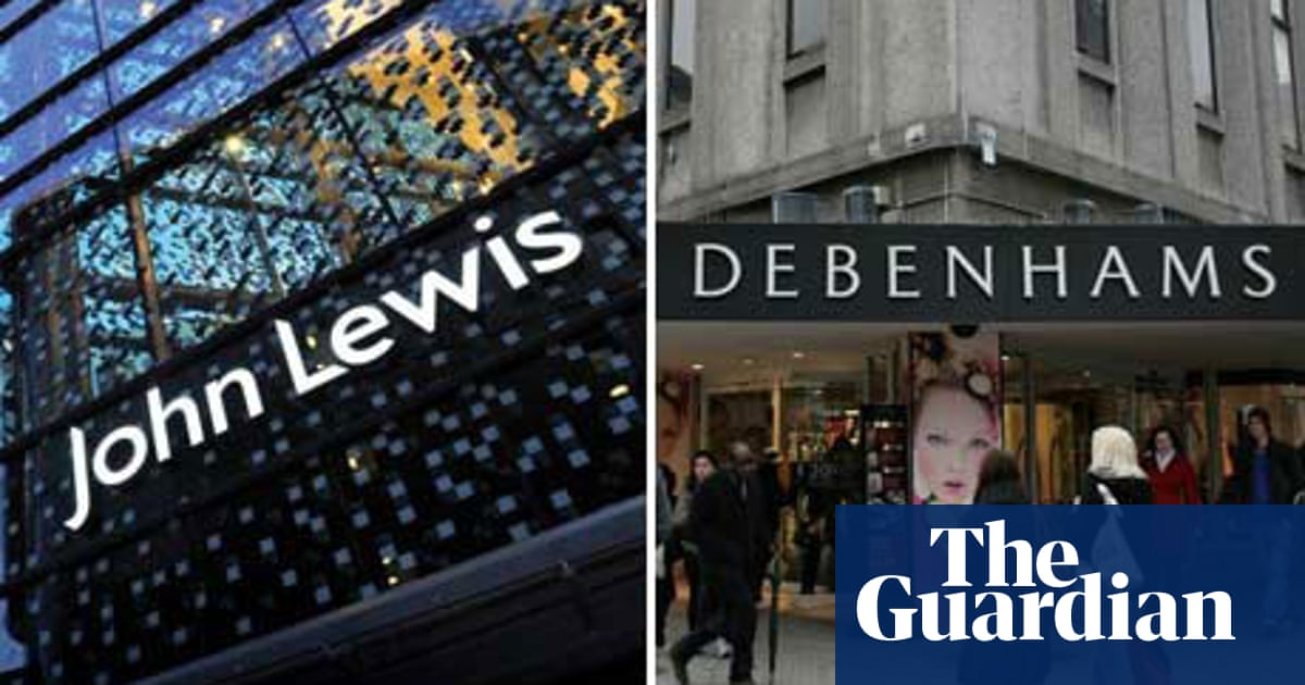 outlet store shopping new list Store Wars: John Lewis and Debenhams | Business | The Guardian