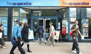 Co-operative Bank in East Croydon, London