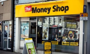 The Money Shop in Mansfield town centre