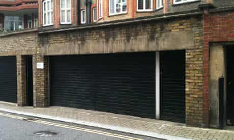Knightsbridge garage on sale for £525,000