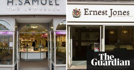 Store Wars H Samuel And Ernest Jones Money The Guardian - Free cleaning invoice template gucci outlet store online