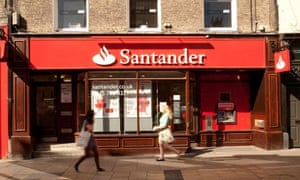 Santander bank in Cambridge