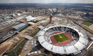 The London Olympic park