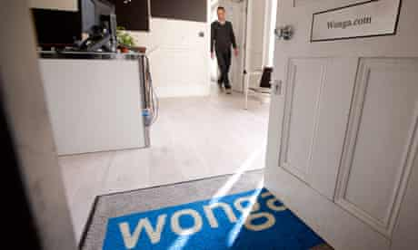 The offices of Wonga in London