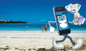 Data roaming: don't let your smartphone run off with your