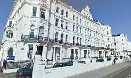 This flat in Palmeira Avenue Mansions, Hove, recently had its rent capped at £599 a month