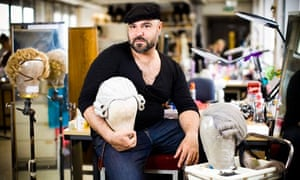 Giuseppe Cannas, head of make up and wigs at the National Theatre