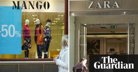 Store Wars Zara And Mango Money The Guardian