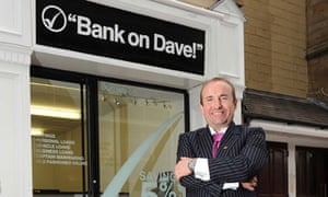 Dave Fishwick of Bank of Dave fame