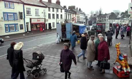 Egremont in the borough of Copeland, Cumbria