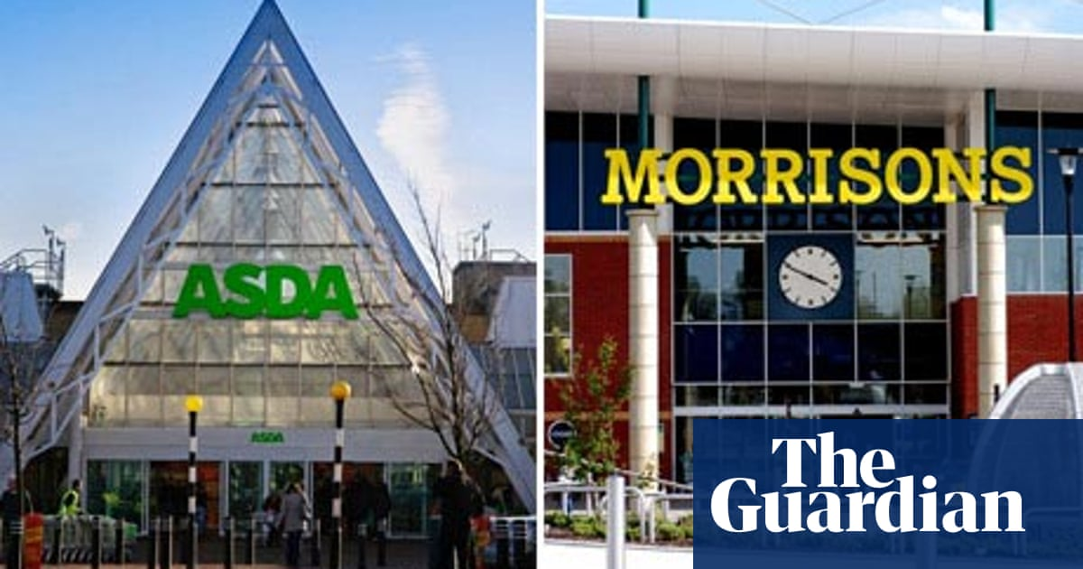Store Wars Asda And Morrisons Business The Guardian